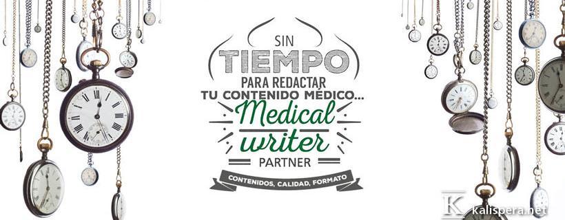 Sin tiempo para la redacción de textos medicos